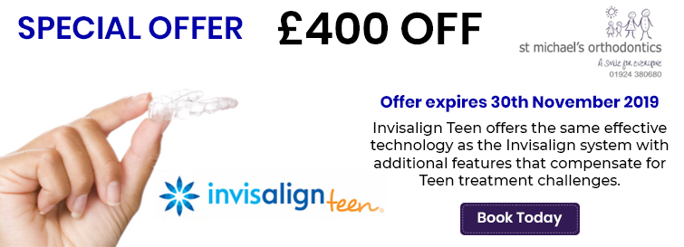 Invisalign Teen offers